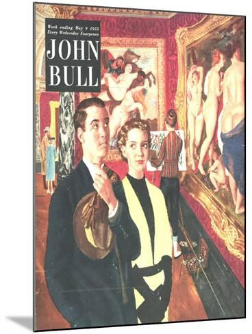 Front Cover of 'John Bull', May 1953--Mounted Giclee Print