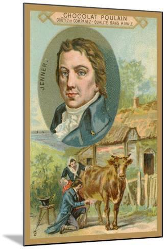 Chocolat Poulain Trade Card, Edward Jenner--Mounted Giclee Print