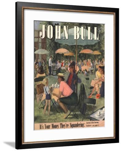 Front Cover of 'John Bull', July 1948--Framed Art Print