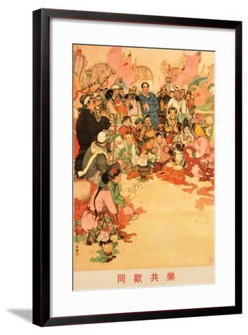 Happy Together as One, August 1963--Framed Art Print