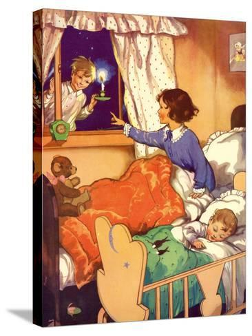 Illustration from a Children's Book, 1950s--Stretched Canvas Print