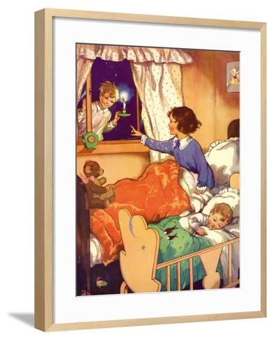 Illustration from a Children's Book, 1950s--Framed Art Print
