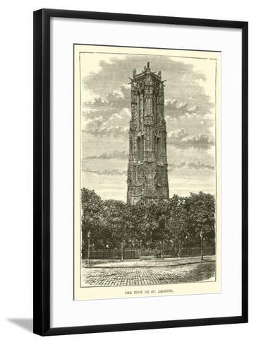 The Tour De St Jacques--Framed Art Print