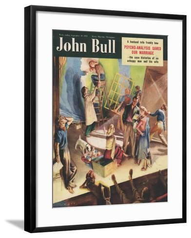 Front Cover of 'John Bull', September 1950--Framed Art Print