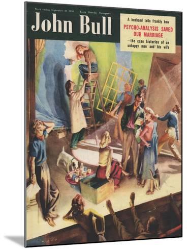 Front Cover of 'John Bull', September 1950--Mounted Giclee Print
