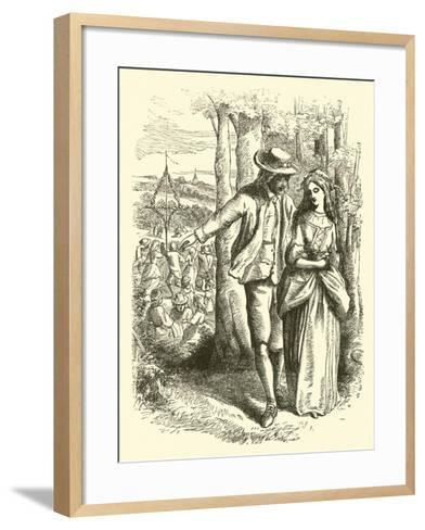 That Merry, Merry May--Framed Art Print