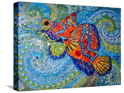 Mandarin Fish, 2013-Maylee Christie-Stretched Canvas Print