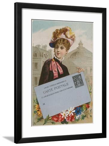 Universal Postal Union--Framed Art Print