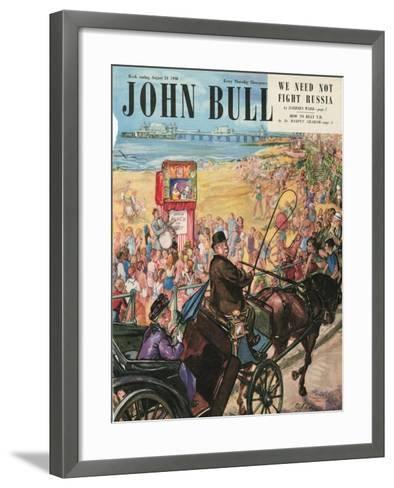 Front Cover of 'John Bull', August 1948--Framed Art Print