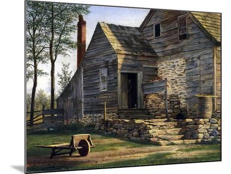 A Long Island Homestead-William M Davis-Mounted Giclee Print