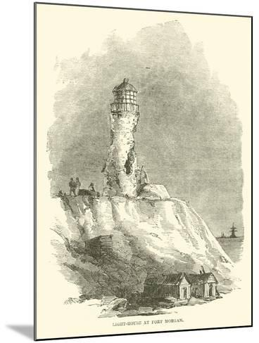 Light-House at Fort Morgan, August 1864--Mounted Giclee Print