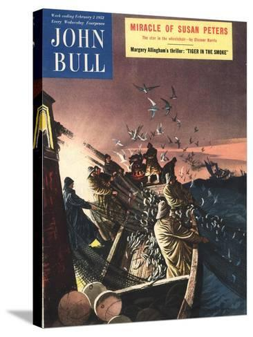 Front Cover of 'John Bull', February 1952--Stretched Canvas Print