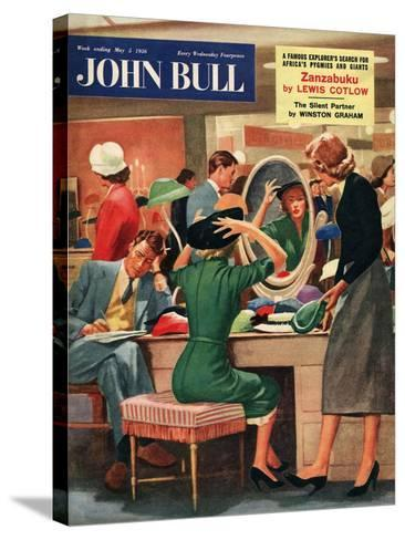 Front Cover of 'John Bull', May 1956--Stretched Canvas Print