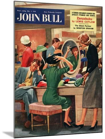 Front Cover of 'John Bull', May 1956--Mounted Giclee Print