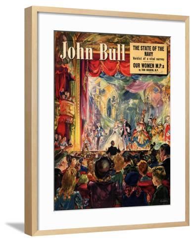 Front Cover of 'John Bull', December 1949--Framed Art Print