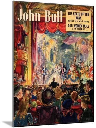 Front Cover of 'John Bull', December 1949--Mounted Giclee Print