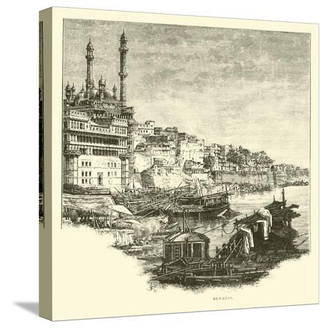 Benares--Stretched Canvas Print