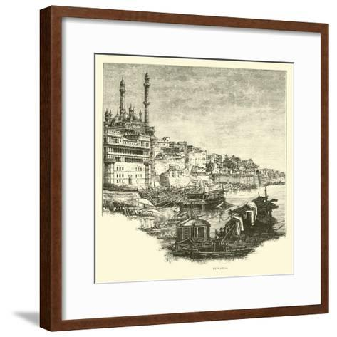 Benares--Framed Art Print