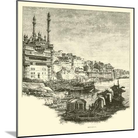 Benares--Mounted Giclee Print
