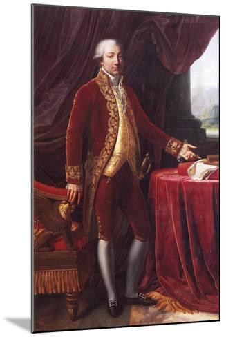 Portrait of Carlo Maria Buonaparte--Mounted Giclee Print