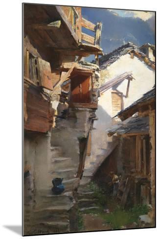 In the Rhone Valley, 1896-Henry Woods-Mounted Giclee Print