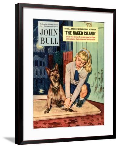 Front Cover of 'John Bull', February 1952--Framed Art Print