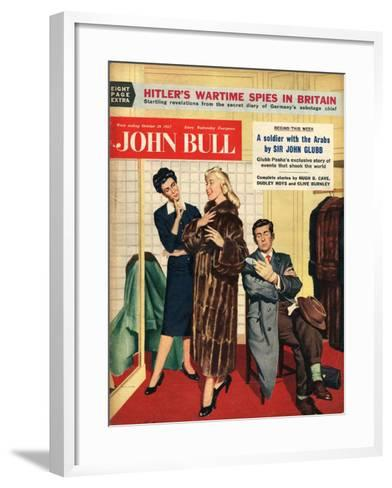 Front Cover of 'John Bull', October 1957--Framed Art Print