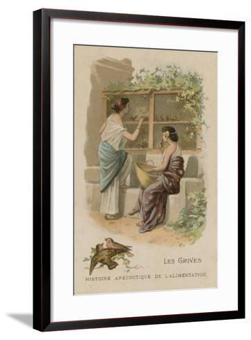 The Thrushes--Framed Art Print