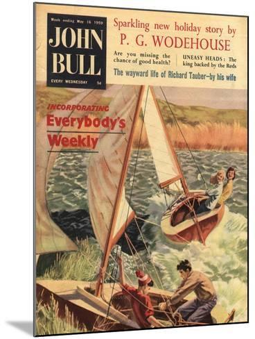 Front Cover of 'John Bull', May 1959--Mounted Giclee Print