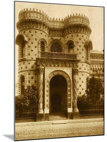 The Morozov House at Vozdvizhenka, Moscow--Mounted Photographic Print