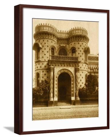 The Morozov House at Vozdvizhenka, Moscow--Framed Art Print