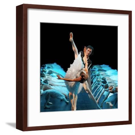 Yekaterina Borchenko as Odette--Framed Art Print