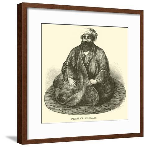 Persian Mollah--Framed Art Print