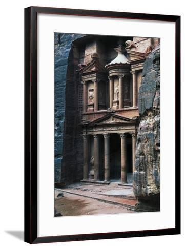 Treasure of Pharaoh or Treasury--Framed Art Print