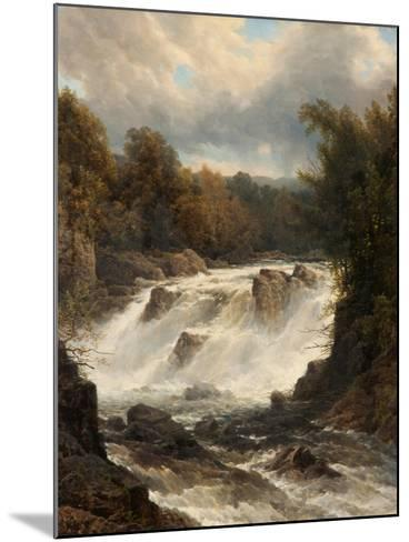 Swallow Falls, Betws-Y-Coed, Conwy, C.1880-G. L. Bartholme-Mounted Giclee Print