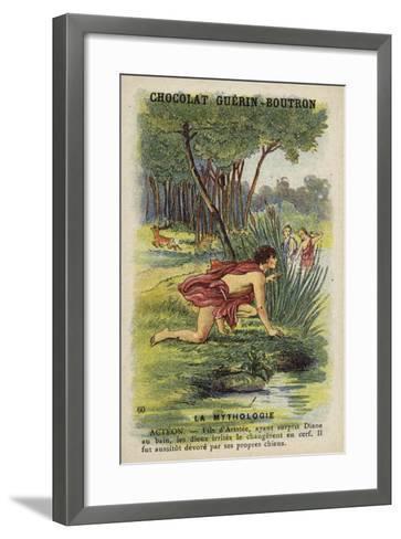 Acteon--Framed Art Print