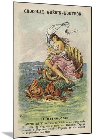 Amphitrite--Mounted Giclee Print
