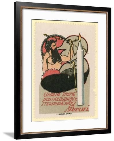 Perun Candles--Framed Art Print