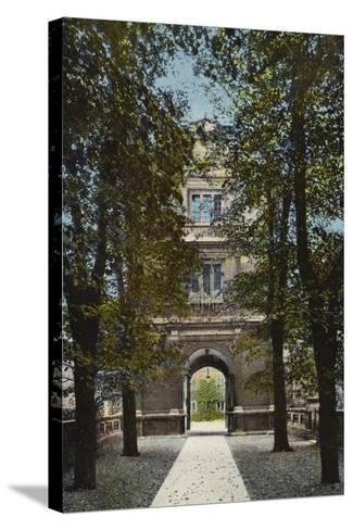 Gonville and Caius College, Gate of Virtue--Stretched Canvas Print