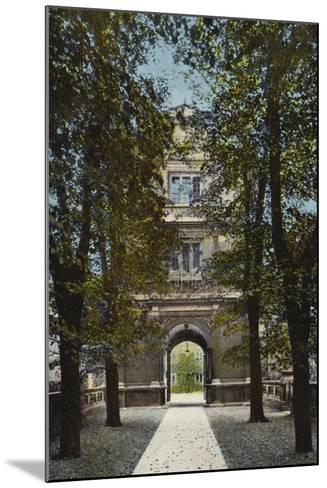 Gonville and Caius College, Gate of Virtue--Mounted Photographic Print