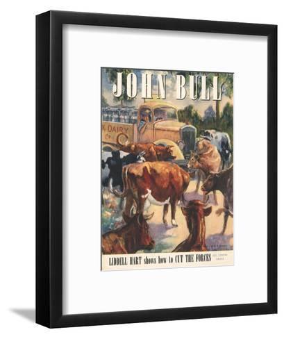 Front Cover of 'John Bull', May 1947--Framed Art Print