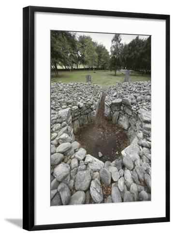 United Kingdom, Great Britain, Tumulus--Framed Art Print