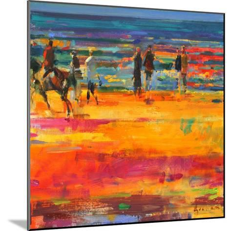 The Canter, Paris Plage-Peter Graham-Mounted Giclee Print