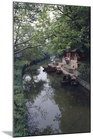 China, Jiangsu, Suzhou Master of Nets Garden--Mounted Photographic Print