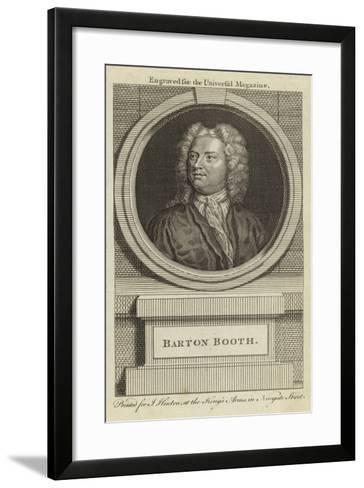 Barton Booth--Framed Art Print
