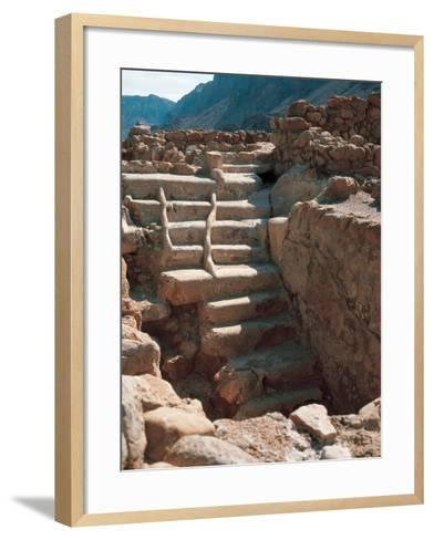 Ritual Bath, Mikveh--Framed Art Print