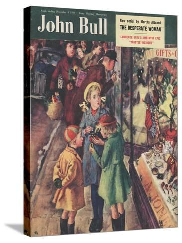 Front Cover of 'John Bull', December 1950--Stretched Canvas Print
