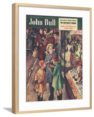 Front Cover of 'John Bull', December 1950--Framed Art Print