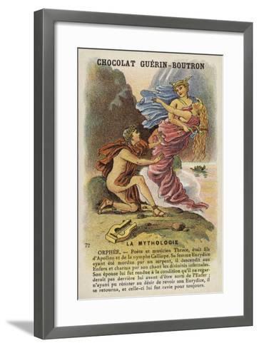 Orpheus--Framed Art Print