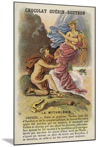 Orpheus--Mounted Giclee Print
